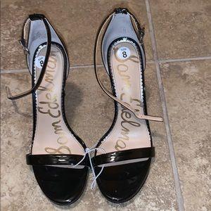 Sam Edelman Black Women Heels Size 8